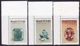 Brasil, 1977, Minerals MNH - Minerali