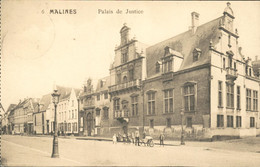 België - Malines Mechelen - Palais De Justice - 1918 - Zonder Classificatie