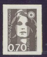 N° 5 ( 2824 )  Marianne Adhesif  Faciale 0,70 F - Luchtpost