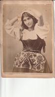 Photo Fin 1800 - Italie :  Rome Portrait D'une Femme -Ritratto Di Una Donna - Pascuccia - Antiche (ante 1900)