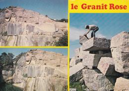 CP 22 LE GRANIT ROSE - Exploité En Carrières - Perros-Guirec   (lot Pat 132) - Bergbau