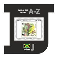 S. TOME & PRINCIPE 2020 - WWF, Jamaica: Parrot - YT BF1384, CV=9 € [ST200315b06] - Papageien