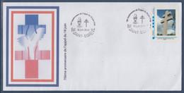 Enveloppe Appel Du 18 Juin 1940 Par Général De Gaulle MonTimbramoi LP Saint Egrève 18 Juin 2010 Cadre Bleu MTAM - De Gaulle (General)