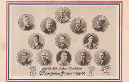 Football Club Sochaux Montbéliard Champion De France 1934-35 - Equipe Joueur Avec Véritable Autographe Au Dos - Sochaux