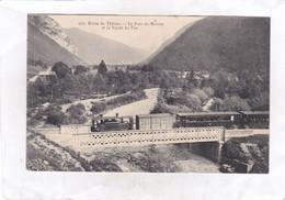 CPA :  14 X 9  - Route De Thônes.  -  Le Pont De Morette Et La Vallée Du Fier - Thônes