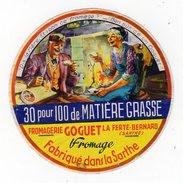 Dec20    72020    étiquette  Camembert Goguet   La Ferté Bernard - Quesos