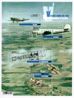 BELGIUM 2016 Aircraft: Sheet Of 5 Stamps UM/MNH - Bloques 1962-....