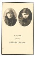Doodsprentje Oorlogsslachtoffer Soldaten Wuustwezel Loenhout + Humbeek Berneuil Mei 1940 - Andachtsbilder