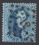 """NO 15 OBLITERE """"12"""". - 1863-1864 Médaillons (13/16)"""