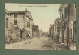CARTE POSTALE 55 MEUSE REVIGNY LA GENDARMERIE ROUTE DE ST MENEHOULD - Revigny Sur Ornain