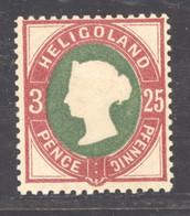 Heligoland  :    Mi   15  ** , Dentelé 13 1/2 X 14 1/4 - Heligoland