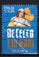 ITALIA - 2016 - MADE IN ITALY: PASTA DE CECCO - FRANCOBOLLO CON PIEGA - USATO - 2011-...: Afgestempeld