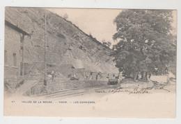 Yvoir  Les Carrières   Vallée De La Meuse  Edit Phot Bertels N° 60 - Yvoir