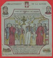 Protége Cahier Ancien Fin XIXéme Collection Serie INSTRUCTIVE  Dep  De La Savoie ( Dons Du Général De Boigne  ) - Book Covers