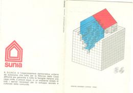 Sindacato Unitario Nazionale Inquilini E Assegnatari (SUNIA) - TESSERA 1984 -  BOLOGNA - Organizations