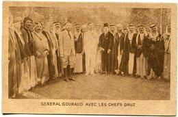 LIBAN LEBANON  Général GOURAUD Avec Les Chefs Druzes  Photo Torossian éditeur MURACHANIAN - Lebanon