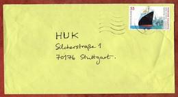 Brief, Dampfer Bremen Sk, MS Welle Briefzentrum 74, Michelbach Nach Stuttgart 2006? (1031) - Cartas