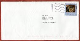 Brief, Spitzweg Sk, MS Welle Briefzentrum 74, Leingarten Nach Stuttgart 2009 (1032) - Cartas
