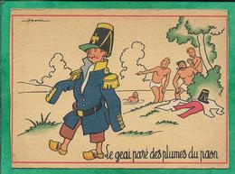 Le Geai Paré Des Plumes Du Paon (fable) Par Jack (Barre-Dayez éditeurs) 2scans 1960 Chapeau Aigle Naopléonien - Umoristiche