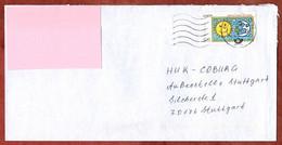 Brief, Europa Rizzi, MS Welle Briefzentrum 74, Bad Rappenau Nach Stuttgart 2008 (1034) - Cartas