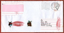 Brief, Hildegard Knef, MS Welle Briefzentrum 74, Walheim Nach Leonberg 2003 (1038) - Cartas