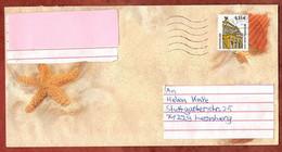 Brief, Alte Oper Frankfurt, MS Welle Briefzentrum 74, Walheim Nach Leonberg 2003 (1039) - Cartas