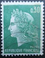 FRANCE N°1611b 1 Bande De Phosphore Oblitéré - Gebraucht