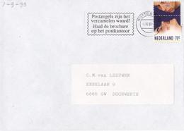 Nederland - Vlagstempel - Postzegels Zijn Het Verzamelen Waard! Haal De Brochure Op Het Postkantoor. - Postal History