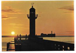 62 - BOULOGNE SUR MER - Coucher De Soleil Sur Le Port - Ed. MAGE N° 6223.A.2 - Phare - Boulogne Sur Mer