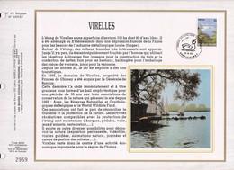 Feuillet Tirage Limité CEF 471 2255 Virelles Chimay - Panes