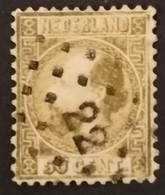 Nederland/Netherlands - Nr. 12IIA Met Puntstempel 22 - Used Stamps