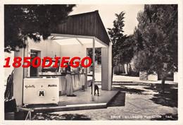 ERICE - VILLAGGIO TURISTICO - BAR F/GRANDE VIAGGIATA 1962 ANIMATA CON PUBBLICITA' - Trapani
