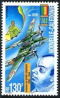 Nouv Calédonie New Caledonia 2000 100 Ans Naissance Saint-Exupéry Birthday 100 Years Lockheed P-38 Lightning - Aerei