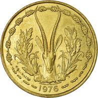 Monnaie, West African States, 25 Francs, 1976, Paris, TTB, Aluminum-Bronze, KM:5 - Ivory Coast