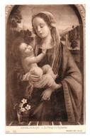 012, Musée De Lille, LL 132, Guirlandajo, La Vierge à L'Eglantine - Pintura & Cuadros