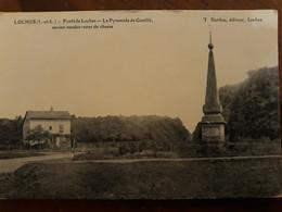 CPA LOCHES (37) Forêt De Loches Pyramide De Genillé Ancien Rendez-vous De Chasse - Loches