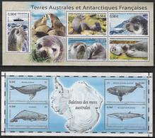 TAAF Terres Australes Et Antartiques Françaises Bloc 23 Et 25 Neufs** - Nuevos