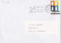 Nederland - Vlagstempel - 1892 - 1992 - 100 Jaar S.G. Haarlem - Postal History