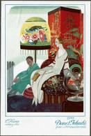 C1922 - Image 19 X 13 Cm - Illustrateur Brunelleschi - Art Déco - Dans L'Intimité - L'Hiver Chez Soi - 2 Scans - Altri
