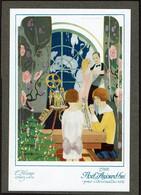 C1922 - Image 19 X 13 Cm - Illustrateur Brunelleschi - Art Déco - Noël D'Aujourd'hui - L'Hiver Chez Soi - 2 Scans - Altri