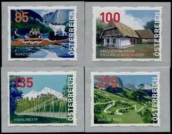 Austria 2020  Dispenser-Marken, 4 Werte Postfrisch/mnh/** 9. Auflage - 2011-... Nuovi & Linguelle
