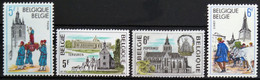 BELGIQUE                    N° 1952/1955                NEUF* - Unused Stamps