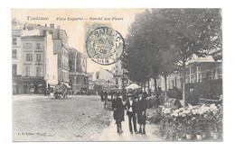 (28319-31) Toulouse - Place Esquirol - Marché Aux Fleurs - Toulouse