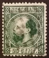 Nederland/Netherlands - Nr. 10IID Met Puntstempel - Used Stamps
