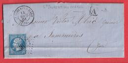 N°22 GC 3647 ST GERVAIS SUR MARE HERAULT BOITE URBAINE IDENTIFIEE ST LAURENT DES NIERES SOMMIERES GARD 1864 - 1849-1876: Classic Period