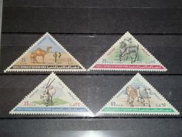 Yemen Du Sud (République) 1970 / YT 56/59 MNH XX - Yemen