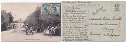 CHINE - Carte Postale Arsenal De L'Est De TIEN-TSIN Pour La Belgique 02/12/1926 Via Sibérie - 1912-1949 República