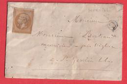 N°13 ANNULATION PLUME BOITE RURALE C MURVIEL LES BEZIERS HERAULT - 1849-1876: Klassik