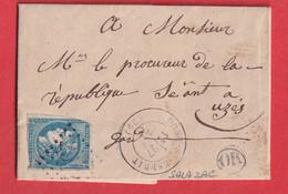N°46A GC 2954 PONT ST ESPRIT GARD OR SALAZAC UZES - 1849-1876: Klassieke Periode