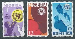 Nigeria YT N°260/262 UNICEF Neuf ** - Nigeria (1961-...)